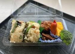 山菜おこわ弁当の画像